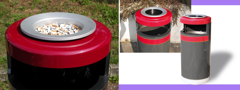 ECO 130 with large ashtray